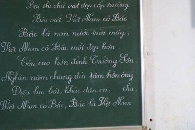 Trường Tiểu học Nguyễn Văn Trỗi Thi viết chữ đẹp